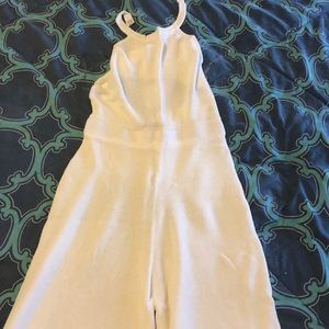 Nasty Gal Other - White  jumpsuit